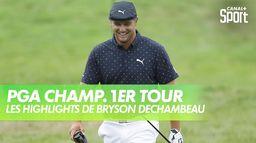 Les highlights de Bryon DeChambeau : PGA Championship 2020 - 1er Tour