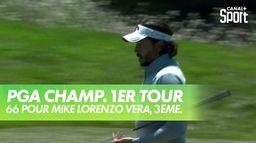 Mike Lorenzo-Vera termine en beauté ! : PGA Championship 2020 - 1er Tour