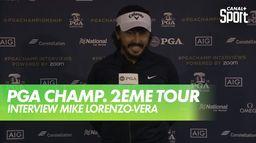 Réaction de Mike Lorenzo-Vera : PGA Championship 2020 - 2ème Tour
