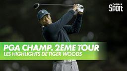 Les highlights de Tiger Woods : PGA Championship 2020 - 2ème Tour