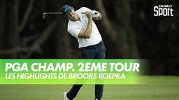 Les highlights de Brooks Koepka : PGA Championship 2020 - 2ème Tour