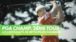 Les highlights de Bryson DeChambeau : PGA Championship 2020 - 2ème Tour