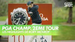 Les highlights de Rory McIlroy : PGA Championship 2020 - 2ème Tour