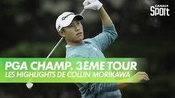 Les highlights de Collin Morikawa : PGA Championship 2020 - 3ème Tour