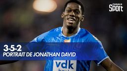 Comment joue Jonathan David ? : 3-5-2