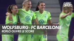 Fridolina Rolfö ouvre le score ! : UEFA Women's Champions League
