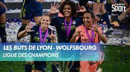 Les buts de Lyon - Wolfsbourg : UEFA Women's Champions League