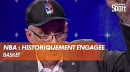 NBA : une ligue historiquement engagée : Basket