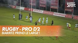 Biarritz prend le large ! : Rugby