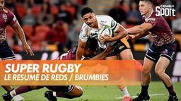Le résumé de Reds / Brumbies : Super Rugby