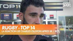 La réaction d'Ollivon après la défaite de Toulon : TOP 14