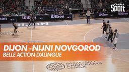 Belle action de la JDA Dijon : Dijon - Nizhny