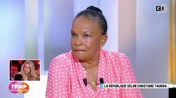 Christiane Taubira en larmes face à la situation des migrants