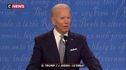 Les temps forts de Joe Biden pendant le débat