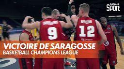 La victoire de Saragosse : Basketball Champions League