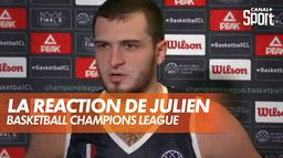 La réaction d'Axel Julien après l'élimination de Dijon en BCL : Basketball Champions League
