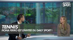 Fiona Ferro est l'invitée du Daily Sport !