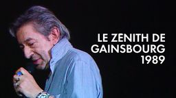 Serge Gainsbourg au Zénith