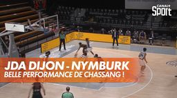 Chassang injouable face à Nymburk : BCL