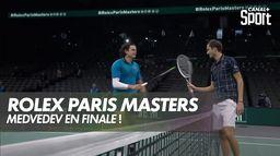 Medvedev en finale du Rolex Paris Master !