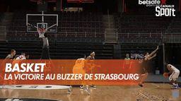La victoire au buzzer de Strasbourg ! : BCL