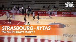 Strasbourg - Rytas : les lituaniens à l'avantage ! : BCL