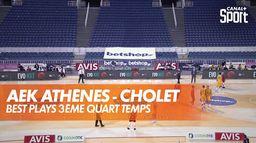 AEK Athènes - Cholet : un match serré ! : BCL