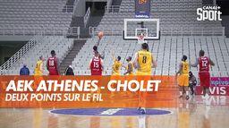 Bonne performance de Cholet malgré la défaite : BCL
