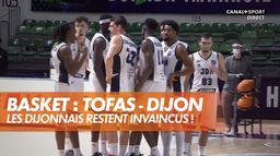 Tofas - Dijon : les Dijonnais restent invaincus ! : Basketball Champions League