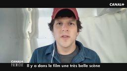 Extrait CANAL+ Première : Jesse Eisenberg pour Résistance