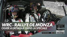 Sébastien Ogier à l'attaque : WRC rallye de Monza