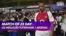 Tottenham / Arsenal : les meilleurs matches