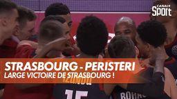 Strasbourg s'impose face à Peristéri ! : BCL