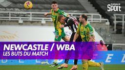 Newcastle / West Bromwich Albion : les buts