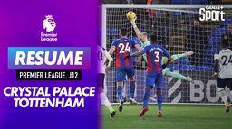 Les faits marquants de Crystal Palace - Tottenham