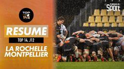 Le résumé Boxing Day Rugby de La Rochelle / Montpellier