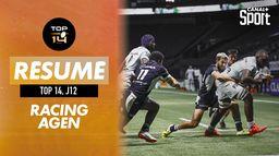 Le résumé Boxing Day Rugby de Racing / Agen