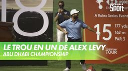 Le trou sublime en un coup de Alex Levy : Golf