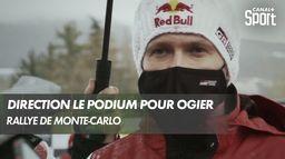 Retour sur les trois premiers jours de Sébastien Ogier au Rallye de Monte-Carlo : Rallye Monte-Carlo