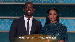 Jason Sudeikis - Meilleur acteur dans une série comique ou musicale - Golden Globes 2021
