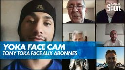 Tony Yoka face aux abonnés CANAL+ : Interview