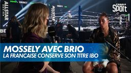 Estelle Mossely conserve son titre avec brio : Championnat IBO