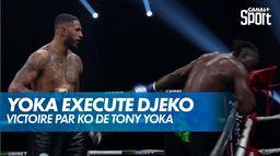 Yoka exécute Djeko dans le dernier round : Yoka - Djeko