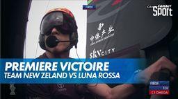 Team New zeland remporte la première régate