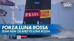 Luna Rossa remporte cette seconde régate au finish de 7 secondes !