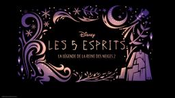 Les 5 esprits : La légende de La Reine des Neiges 2