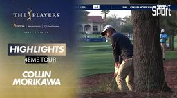 Highlights Collin Morikawa : The Players - 4ème tour