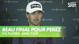 La réaction de Victor Perez à l'issue de la compétition : PGA Tour - 4ème tour