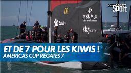 Les Kiwis remportent la septième régate