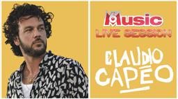 M6 MUSIC LIVE SESSION CLAUDIO CAPEO